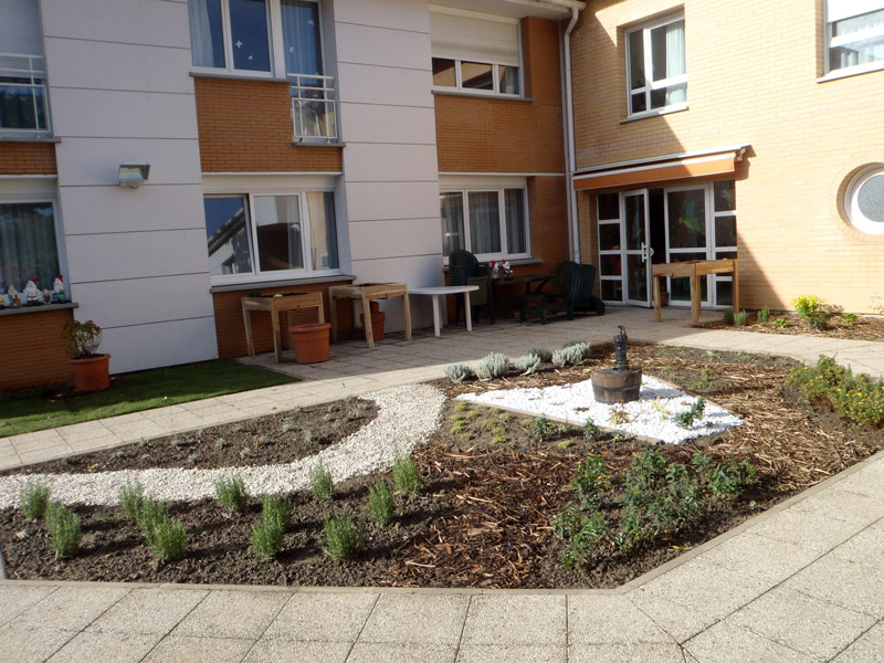 Saint Andre Jardin Therapeutique Ehpad Vetiver Jardin